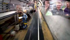 google glass explores the large hadron collider, doesn't find god particle [video]