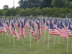 fayetteville's 'field of honor' kicks off next week, how to get a flag